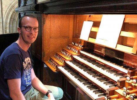 Orgelconcert Leo Ravensbergen tijdens Open Monumentendag & Nationale Orgeldag