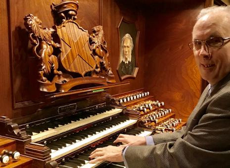Lunchconcert Floor van Rijn (50 jaar organist Nieuwe Kerk)